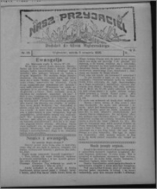 """Nasz Przyjaciel : dodatek do """"Głosu Wąbrzeskiego"""" 1925.09.05, R. 2, nr 35 [i.e. 36]"""