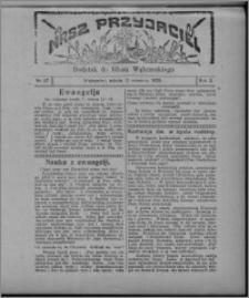 """Nasz Przyjaciel : dodatek do """"Głosu Wąbrzeskiego"""" 1925.09.12, R. 2, nr 37"""