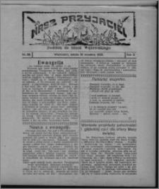 """Nasz Przyjaciel : dodatek do """"Głosu Wąbrzeskiego"""" 1925.09.19, R. 2, nr 38"""