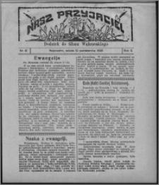 """Nasz Przyjaciel : dodatek do """"Głosu Wąbrzeskiego"""" 1925.10.10, R. 2, nr 41"""