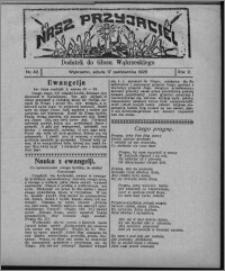 """Nasz Przyjaciel : dodatek do """"Głosu Wąbrzeskiego"""" 1925.10.17, R. 2, nr 42"""