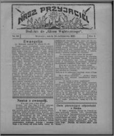 """Nasz Przyjaciel : dodatek do """"Głosu Wąbrzeskiego"""" 1925.10.24, R. 2, nr 43"""