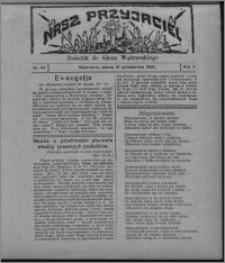 """Nasz Przyjaciel : dodatek do """"Głosu Wąbrzeskiego"""" 1925.10.31, R. 2, nr 44"""