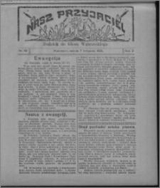 """Nasz Przyjaciel : dodatek do """"Głosu Wąbrzeskiego"""" 1925.11.07, R. 2, nr 45"""