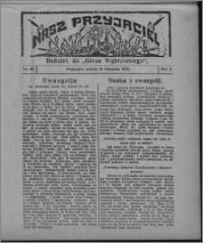 """Nasz Przyjaciel : dodatek do """"Głosu Wąbrzeskiego"""" 1925.11.21, R. 2, nr 46 [i.e. 47]"""