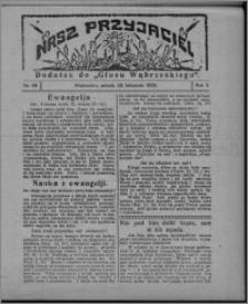 """Nasz Przyjaciel : dodatek do """"Głosu Wąbrzeskiego"""" 1925.11.28, R. 2, nr 48"""