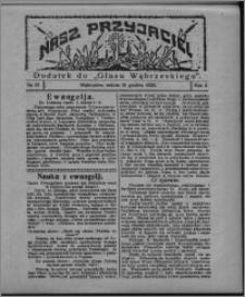 """Nasz Przyjaciel : dodatek do """"Głosu Wąbrzeskiego"""" 1925.12.19, R. 2, nr 51"""