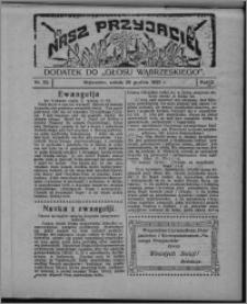 """Nasz Przyjaciel : dodatek do """"Głosu Wąbrzeskiego"""" 1925.12.26, R. 2, nr 52"""