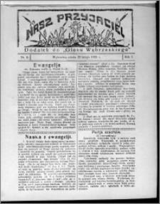"""Nasz Przyjaciel : dodatek do """"Głosu Wąbrzeskiego"""" 1926.02.20, R. 3, nr 8"""
