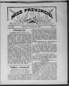 """Nasz Przyjaciel : dodatek do """"Głosu Wąbrzeskiego"""" 1926.10.16, R. 3, nr 42"""