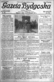 Gazeta Bydgoska 1929.11.23 R.8 nr 271