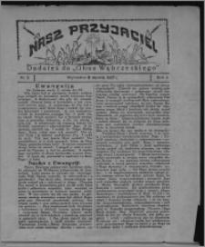 """Nasz Przyjaciel : dodatek do """"Głosu Wąbrzeskiego"""" 1927.01.08, R. 4, nr 2"""