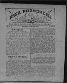 """Nasz Przyjaciel : dodatek do """"Głosu Wąbrzeskiego"""" 1927.01.15, R. 4, nr 3"""
