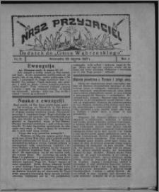 """Nasz Przyjaciel : dodatek do """"Głosu Wąbrzeskiego"""" 1927.01.29, R. 4, nr 5"""