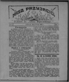"""Nasz Przyjaciel : dodatek do """"Głosu Wąbrzeskiego"""" 1927.02.05, R. 4, nr 6"""