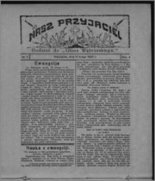 """Nasz Przyjaciel : dodatek do """"Głosu Wąbrzeskiego"""" 1927.02.12, R. 4, nr 7"""