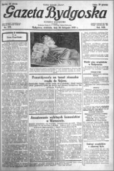 Gazeta Bydgoska 1929.11.24 R.8 nr 272