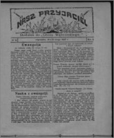 """Nasz Przyjaciel : dodatek do """"Głosu Wąbrzeskiego"""" 1927.02.26, R. 4, nr 9"""