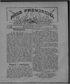 """Nasz Przyjaciel : dodatek do """"Głosu Wąbrzeskiego"""" 1927.03.26, R. 4, nr 13"""