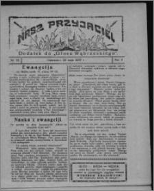 """Nasz Przyjaciel : dodatek do """"Głosu Wąbrzeskiego"""" 1927.05.28, R. 4, nr 22"""
