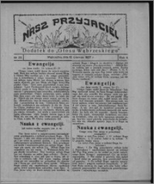 """Nasz Przyjaciel : dodatek do """"Głosu Wąbrzeskiego"""" 1927.06.04, R. 4, nr 23"""