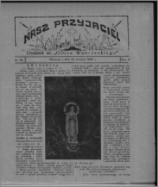 """Nasz Przyjaciel : dodatek do """"Głosu Wąbrzeskiego"""" 1927.08.20, R. 4, nr 34"""