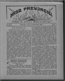 """Nasz Przyjaciel : dodatek do """"Głosu Wąbrzeskiego"""" 1927.10.15, R. 4, nr 42"""