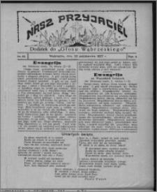 """Nasz Przyjaciel : dodatek do """"Głosu Wąbrzeskiego"""" 1927.10.29, R. 4, nr 44"""