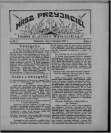 """Nasz Przyjaciel : dodatek do """"Głosu Wąbrzeskiego"""" 1927.11.05, R. 4, nr 45"""
