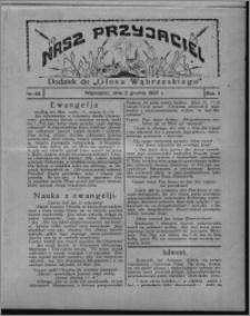"""Nasz Przyjaciel : dodatek do """"Głosu Wąbrzeskiego"""" 1927.12.03, R. 4, nr 49"""