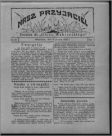 """Nasz Przyjaciel : dodatek do """"Głosu Wąbrzeskiego"""" 1927.12.10, R. 4, nr 50"""