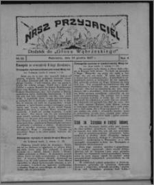 """Nasz Przyjaciel : dodatek do """"Głosu Wąbrzeskiego"""" 1927.12.24, R. 4, nr 52"""