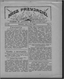 """Nasz Przyjaciel : dodatek do """"Głosu Wąbrzeskiego"""" 1928.03.03, R. 5, nr 10"""