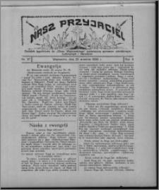 """Nasz Przyjaciel : dodatek tygodniowy """"Głosu Wąbrzeskiego"""" poświęcony sprawom oświatowym, kulturalnym i literackim 1928.09.22, R. 5, nr 37"""