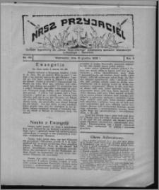 """Nasz Przyjaciel : dodatek tygodniowy """"Głosu Wąbrzeskiego"""" poświęcony sprawom oświatowym, kulturalnym i literackim 1928.12.15, R. 5, nr 49"""