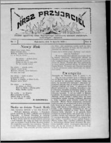 """Nasz Przyjaciel : dodatek tygodniowy """"Głosu Wąbrzeskiego"""" poświęcony sprawom oświatowym, kulturalnym i literackim 1929.01.05, R. 6, nr 1"""