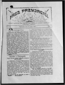 """Nasz Przyjaciel : dodatek tygodniowy """"Głosu Wąbrzeskiego"""" poświęcony sprawom oświatowym, kulturalnym i literackim 1929.02.09, R. 6, nr 6"""