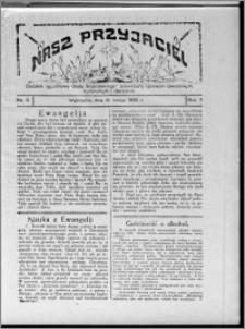 """Nasz Przyjaciel : dodatek tygodniowy """"Głosu Wąbrzeskiego"""" poświęcony sprawom oświatowym, kulturalnym i literackim 1929.02.16, R. 7 [i.e. 6], nr 6 [i.e. 7]"""