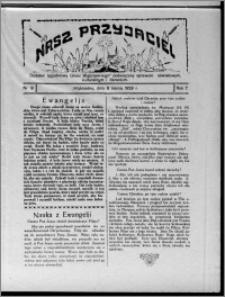 """Nasz Przyjaciel : dodatek tygodniowy """"Głosu Wąbrzeskiego"""" poświęcony sprawom oświatowym, kulturalnym i literackim 1929.03.09, R. 7 [i.e. 6], nr 9 [i.e. 10]"""
