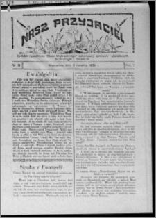 """Nasz Przyjaciel : dodatek tygodniowy """"Głosu Wąbrzeskiego"""" poświęcony sprawom oświatowym, kulturalnym i literackim 1929.04.06, R. 7 [i.e. 6], nr 13 [i.e. 14]"""