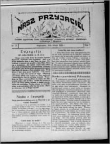 """Nasz Przyjaciel : dodatek tygodniowy """"Głosu Wąbrzeskiego"""" poświęcony sprawom oświatowym, kulturalnym i literackim 1929.05.04, R. 7 [i.e. 6], nr 17 [i.e. 18]"""