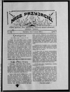 """Nasz Przyjaciel : dodatek tygodniowy """"Głosu Wąbrzeskiego"""" poświęcony sprawom oświatowym, kulturalnym i literackim 1929.08.03, R. 7 [i.e. 6], nr 26"""