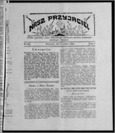 """Nasz Przyjaciel : dodatek tygodniowy """"Głosu Wąbrzeskiego"""" poświęcony sprawom oświatowym, kulturalnym i literackim 1929.08.17, R. 7 [i.e. 6], nr 28"""