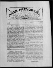 """Nasz Przyjaciel : dodatek tygodniowy """"Głosu Wąbrzeskiego"""" poświęcony sprawom oświatowym, kulturalnym i literackim 1929.08.24, R. 7 [i.e. 6], nr 29"""