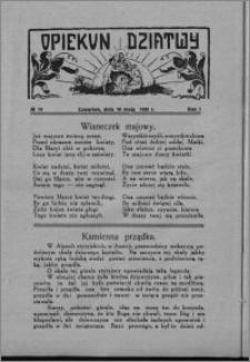 Opiekun Dziatwy 1928.05.10, R. 1 [i.e. 2], nr 19
