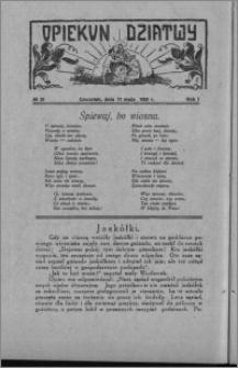 Opiekun Dziatwy 1928.05.17, R. 1 [i.e. 2], nr 20