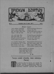 Opiekun Dziatwy 1928.05.31, R. 1 [i.e. 2], nr 22