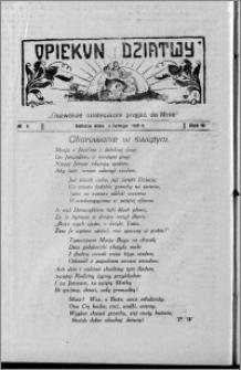 Opiekun Dziatwy 1929.02.02, R. 3, nr 5