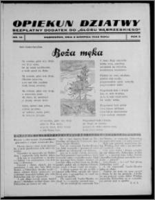 """Opiekun Dziatwy : bezpłatny dodatek do """"Głosu Wąbrzeskiego"""" 1935.08.03, R. 5, nr 16"""