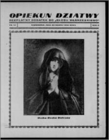 """Opiekun Dziatwy : bezpłatny dodatek do """"Głosu Wąbrzeskiego"""" 1936.03.28, R. 6, nr 12"""